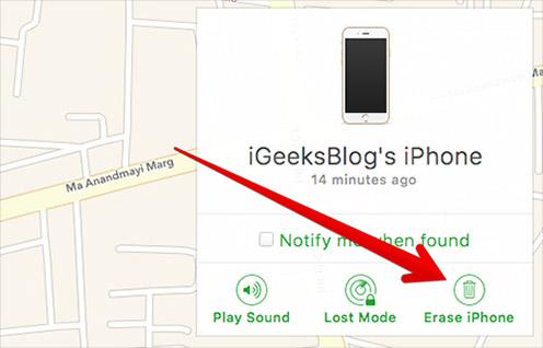 كيفيّة تعطيل خاصيّة Find My iPhone عن بُعد باستخدام iCloud 8def3e96d52b7e487801
