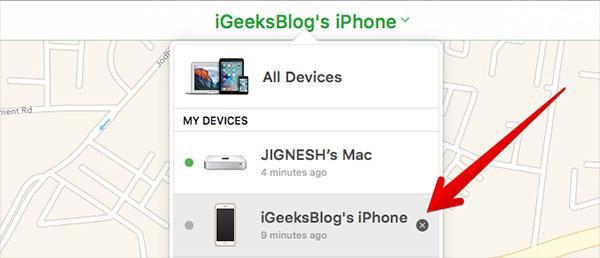 كيفيّة تعطيل خاصيّة Find My iPhone عن بُعد باستخدام iCloud b5b4786acd681baddcf7